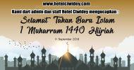 Selamat tahun baru Islam 1440 H dari Hotel Ciwidey dot Com